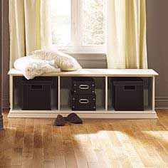BUILD A STORAGE BENCH