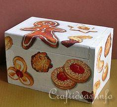Wooden Recipe Box Tutorial