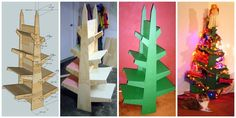 Christmas tree shelves Tutorial