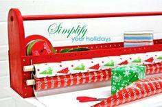 Gift Wrap Organizer Toolbox Tutorial
