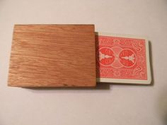 Tutorial - Wooden Playing Card Holder
