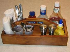 Free Silverware Picnic Caddy Plans - How To Build A Silverware Picnic Caddy
