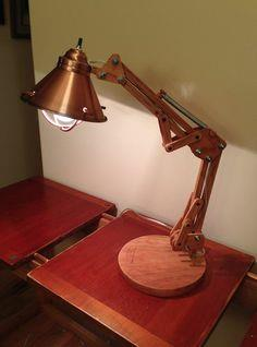Wooden Architect Lamp Tutorial