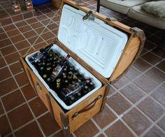 Pirate Chest Beer Cooler Tutorial