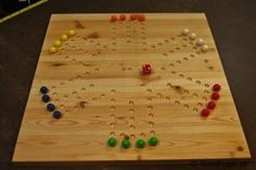 Marble Game Board Plans
