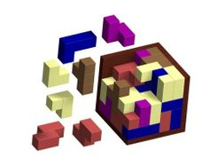 Logical cube puzzle plan