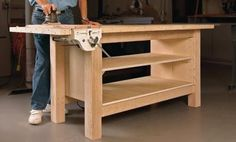 Rock-Solid Plywood Bench