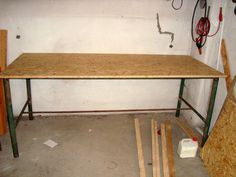 Workbench from pipes