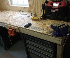 Low cost tough workbench