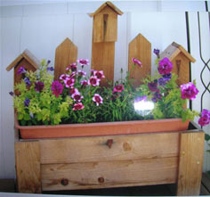 Birdhouse Planter tutorial