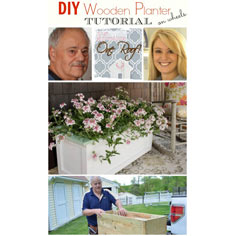 DIY Planter on Wheels