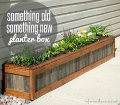 diy planter box