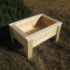 Raised Bed Planter Box