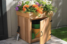 Build a Planter Storage Box