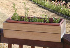 Deck Rail Planter