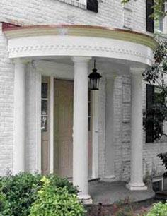 Curved portico tutorial
