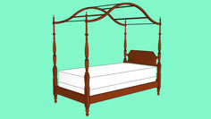 Canopy Bed - Twin Size