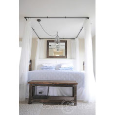 DIY Canopy Bed Tutorial