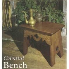 Colonial Bench Plan