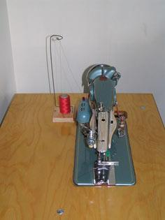 Thread Stand for Sewing Machines tutorial