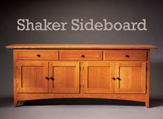 Shaker Sideboard - Woodworking Project