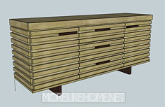 Palm Sideboard - Plans