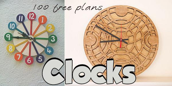 Clock Plans And Tutorials Planspin Com