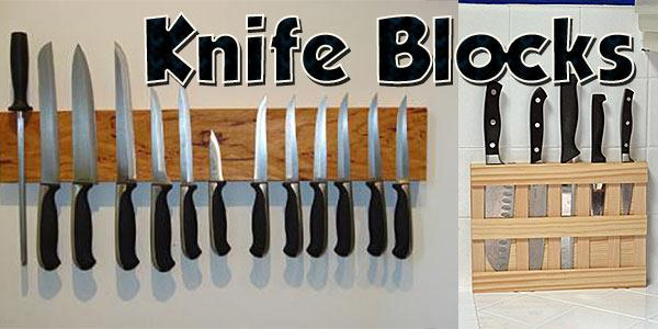 Knife Blocks at PlansPin.com