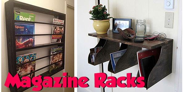 Magazine Racks at PlansPin.com