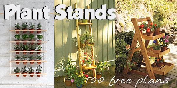 Plant Stands at PlansPin.com