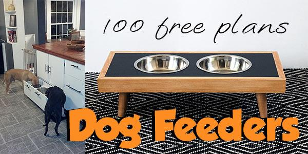 Dog Feeders at PlansPin.com
