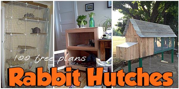 Rabbit Hutches at PlansPin.com