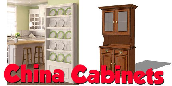 China Cabinets at PlansPin.com