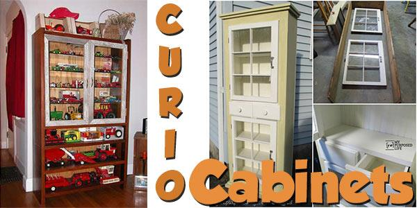 Curio Cabinets at PlansPin.com