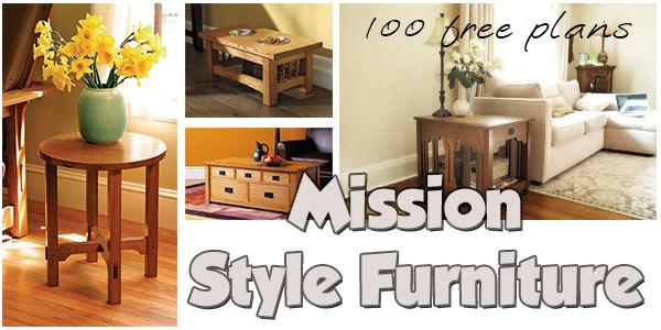 Mission Furniture at PlansPin.com