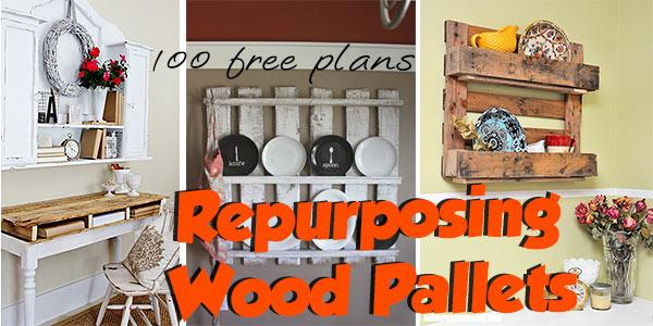 Wood Pallets at PlansPin.com