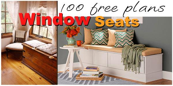Wondrous Window Seat Plans Planspin Com Gmtry Best Dining Table And Chair Ideas Images Gmtryco