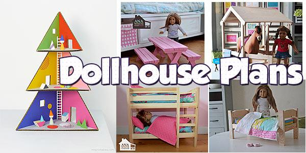 Dollhouse at PlansPin.com