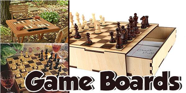 Game Boards at PlansPin.com