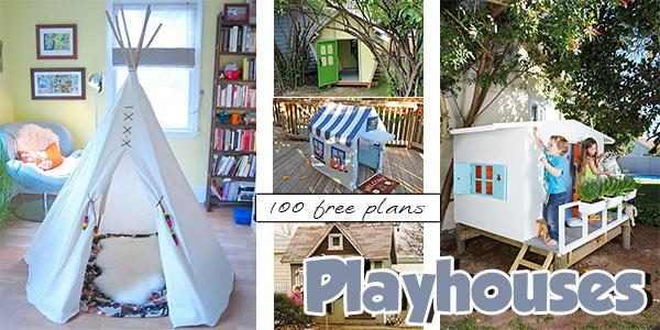 Playhouses at PlansPin.com