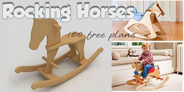 Rocking Horses at PlansPin.com