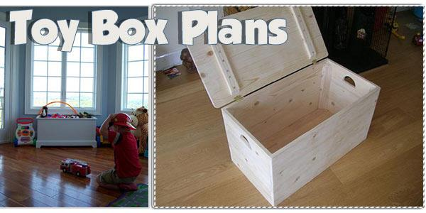 Toy Box at PlansPin.com