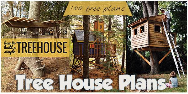 Tree House Plans at PlansPin.com