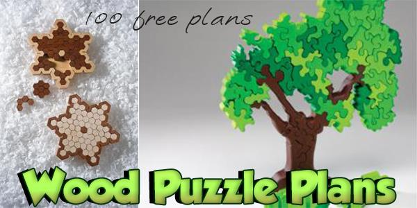 Wood Puzzle Plans at PlansPin.com