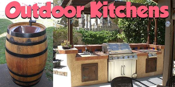 Outdoor kitchens to build free plans at for Outdoor kitchen designs free