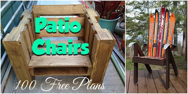 Patio Chairs at PlansPin.com