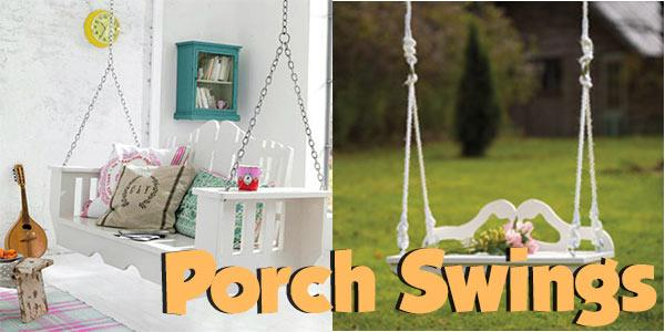 Porch Swings at PlansPin.com