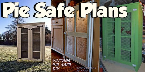 Pie Safe Plans at PlansPin.com