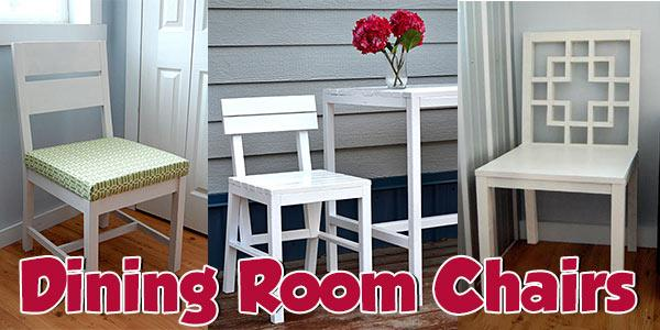 40 Dining Room Chair Plans at PlansPin