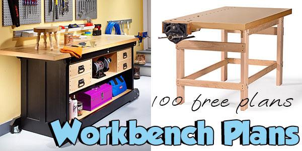 Workbench Plans at PlansPin.com